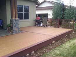 Runnen Floor Decking Outdoor Brown Stained by Outdoor Deck Flooring Ideas U2013 Gurus Floor