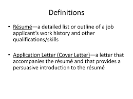 Definition Of Resume Cv Cover Letter Meaning Template 1500 X 1125