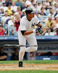 New York Yankees Alex Rodriguez hits a solo home run in the