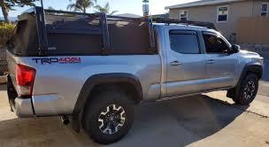 100 Canvas Truck Cap Tacoma Cage Bed Rack Gen 3