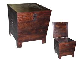 Style Modern Rustic Trunk End Table