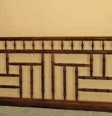 Bamboo Headboards For Beds by Queen Size Bed With Wonderful Faux Bamboo Headboard Ebth