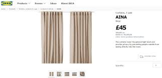 Ikea Aina Curtains Light Grey by Aina U2013 Home Made Productions