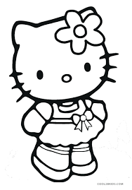 Printable Kitty Coloring Pages Sheets Cat Sheet Puppy Princess Birthday Bad Cute Free Kitten And Pri