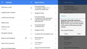 How to Delete Location and Search History in Maps App