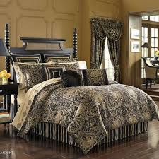 J Queen New York Alicante Curtains by J Queen New York Paramount Bedding Damask By J Queen New York
