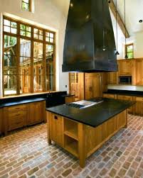 Brick Kitchen Floor Modern Kitchens Inspiration 5 Paver