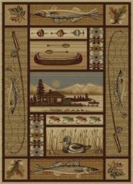 Rustic Cabin Lodge Area Rugs Place