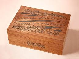 BHLDN Box Wood Anniversary Gifts