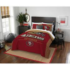 San Francisco 49ers The Northwest Company NFL Draft Full Queen Comforter Set