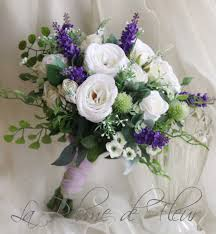 Thistle Flowers For Weddings Scottish Wedding Bouquet Silk Flower White Purple
