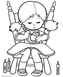 Easter Colouring Pages For Kid