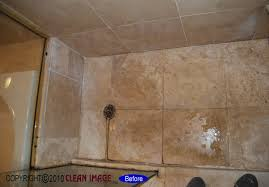 how to clean travertine tile shower floor image bathroom 2017