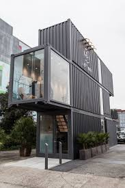 104 Shipping Container Design Best 60 Modern Exterior Flat Roofline Dwell