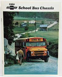 100 1969 Chevy Trucks Chevrolet School Bus Chassis Sales Brochure