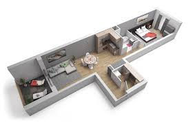 appartement deux chambres plan appartement 2 chambres 100 images achetez du studio au 3