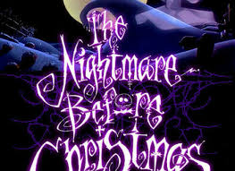 nightmare before christmas doors christmas decorating the night