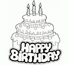 Birthday Cake Pencil Drawing s Birthday Cake Drawing Free Download Clip Art