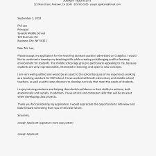 Elementary School Secretary Cover Letter Sample