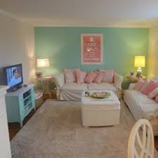 Cute Turquoise And Pink Off Campus Apartment Get DIY Tips At Uscoop