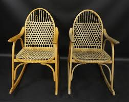 2) Vintage Vermont Tubbs Snowshoe Rocking Chairs | Silver Spring ... Vintage Studio Made Rocking Chair For Sale At 1stdibs Wooden Upholstered Platform Rockers Antique Chairs 1900s All Modern Or Spring Rocking Chair Collectors Weekly Antiques Restoration 1878 Glider 10 Steps With Bentleys Fniture Of Closed Attic Midcentury Rattan For Sale Pamono Teetertot Wooden Toy Vintage Nursery Rocker Etsy Childs Spring Rocker Red Find Fniture From All Eras Arriving Daily At New Uses Rare The Oldest Ive Ever Seen Parker Knoll 1960s Design Market