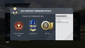 Torneos diarios o daily knockout de FUT Champions en FIFA 18