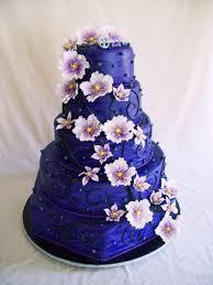 Big Purple Birthday Cake on Cake Central