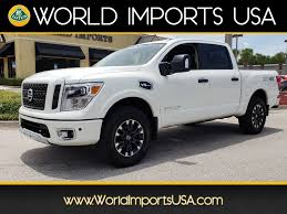 Used 2017 Nissan Titan Crew PRO 4WD For Sale In Jacksonville FL ...