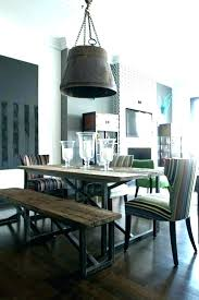 Picnic Table Dining Room Indoor Petite Style Kitchen