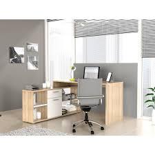 bureau chene clair finlandek bureau d angle työ contemporain décor chene clair et