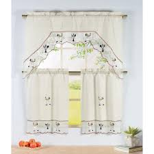 Fat Chef Bistro Kitchen Curtains chef kitchen curtains window treatments compare prices at nextag
