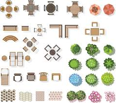 Royalty Free Furniture Clip Art Clipart Top View