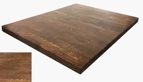 Light Walnut Restaurant Wood Table Top