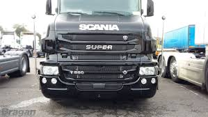 To Fit Scania Truck Stainless SUPER Grille Badge Chrome - 450mm Wide ...
