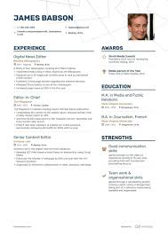 Editor Resume Samples [with 5+ Examples] Guide For 2019