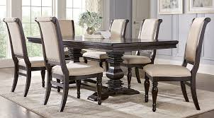dining room gorgeous dining room table set dr rm savona brown