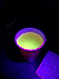 Monster energy drink under a blacklight mildlyinteresting