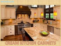 Full Size Of Kitchen Cabinetscream Cabinets Cherry Wood Black Granite Countertops Off