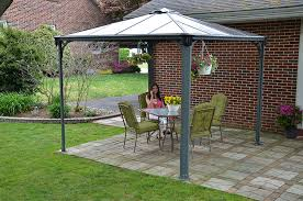 Palram Feria Patio Cover Uk by Palram Palermo Garden Gazebo For Robust Structure Year Round Use