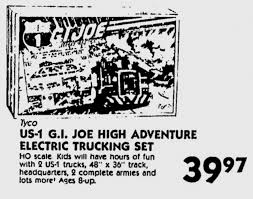 100 Gi Trucking 1984 GI Joe Electric From Tyco