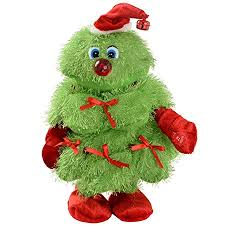 WeRChristmas Novelty Dancing And Singing Christmas Tree 30 Cm