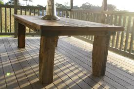 Bold Design Rustic Outdoor Table Amazing Decoration Furniture