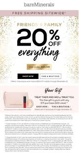 Pinned November 13th: 20% Off Everything At #bareMinerals Or ...
