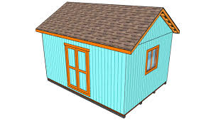 10x12 Shed Material List by How To Build A Roof For A 12x16 Shed Howtospecialist How To