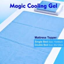 Cooling Bed Topper by Magic Cooling Gel Pad Mat Orthopedic Blue Mattress Topper A2b
