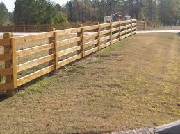 Ranch Style Wood Fence Designs JC Hood Ornamental Iron LLC WOOD