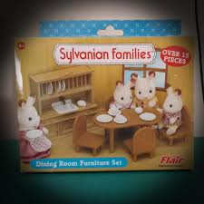 Sylvanian Families Dining Room Set Toys Games Bricks Figurines On Carousell