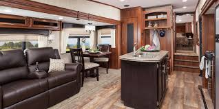 Travel Trailer Floor Plans Rear Kitchen by 2016 Eagle Ht Fifth Wheel Jayco Inc
