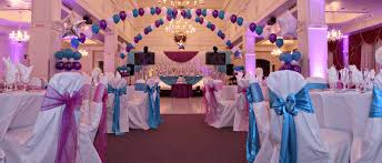 wedding banquet hall decoration catering chicago linen rental