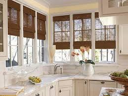 Kitchen Curtain Ideas 2017 by Furniture Extraordinary Window Treatments For Kitchen Bay